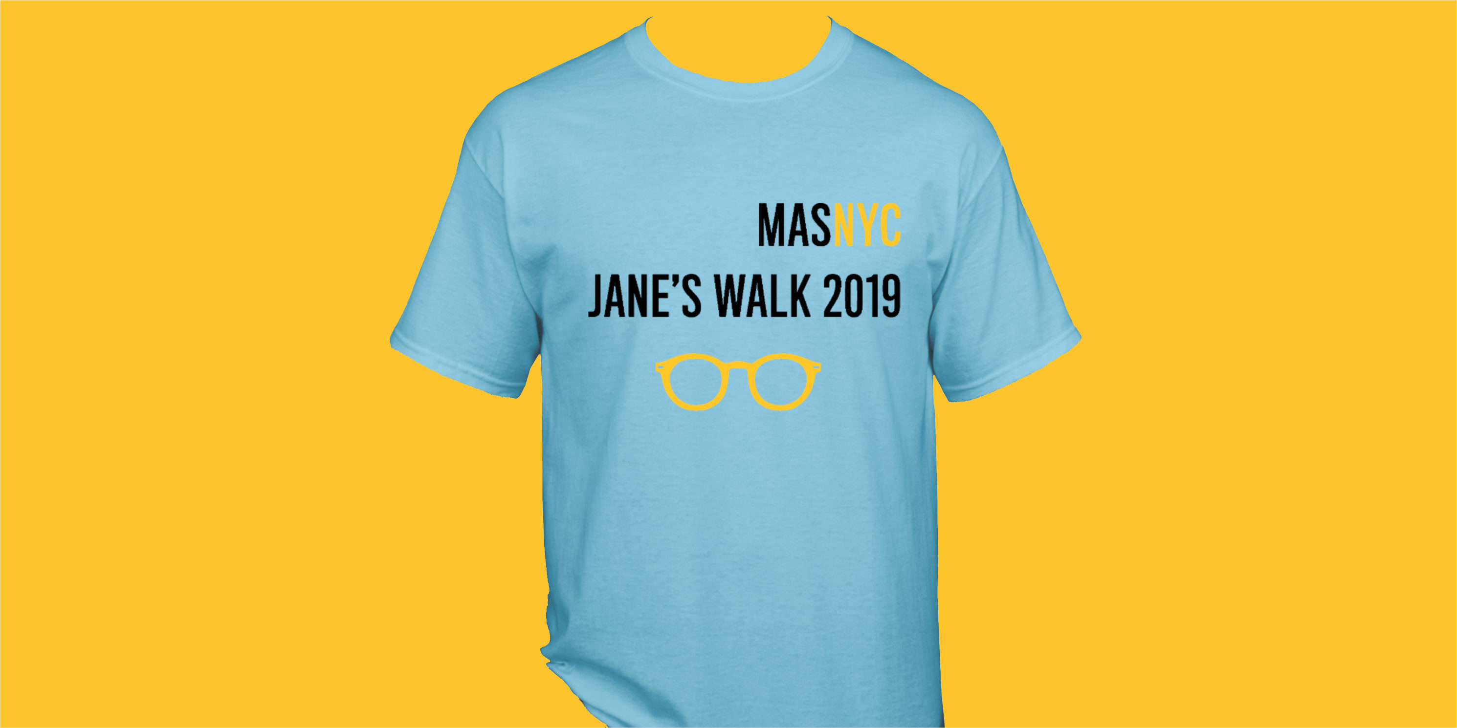 Jane's Walk T-shirt from 2019