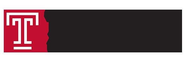 logo for Temple University