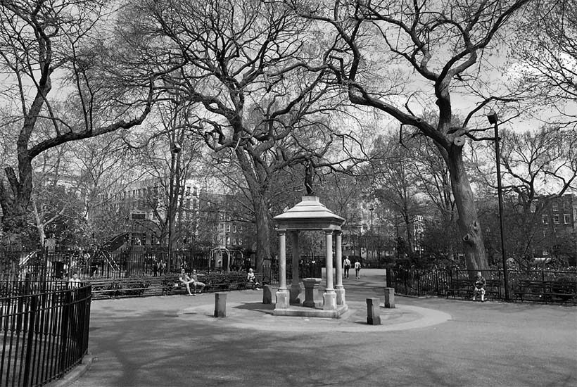 Temperance Fountain in Tompkins Square Park