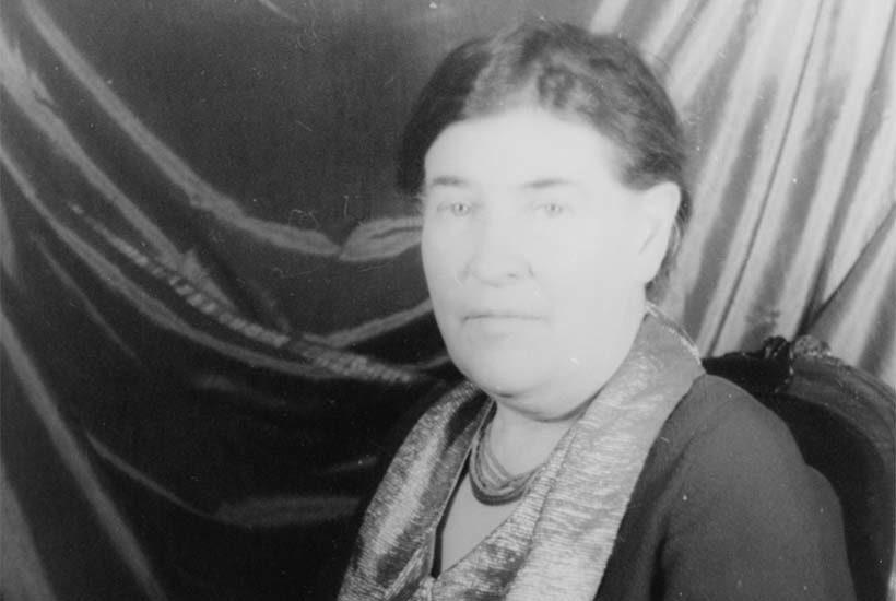 portrait of Willa Cather