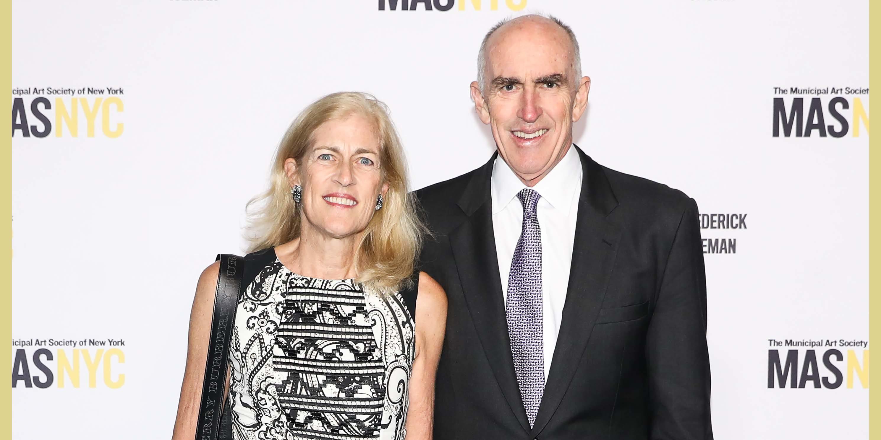 Lisa and Dick Cashin at a Municipal Art Society of New York Gala
