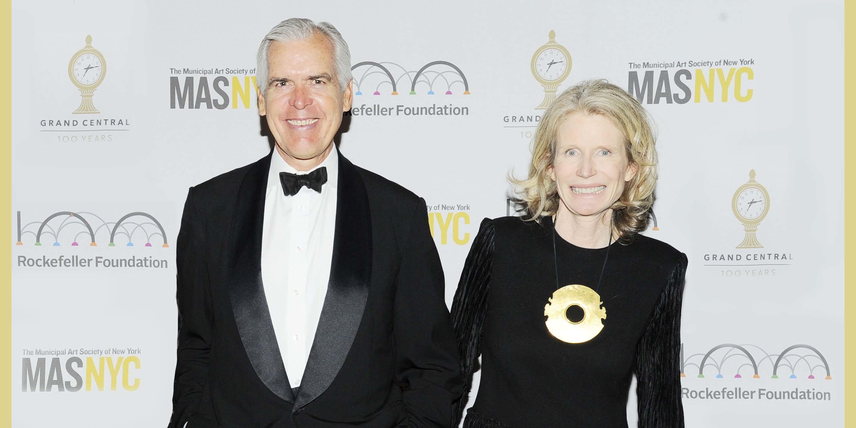Alexandra and Philip Howard at a Municipal Art Society of New York Gala
