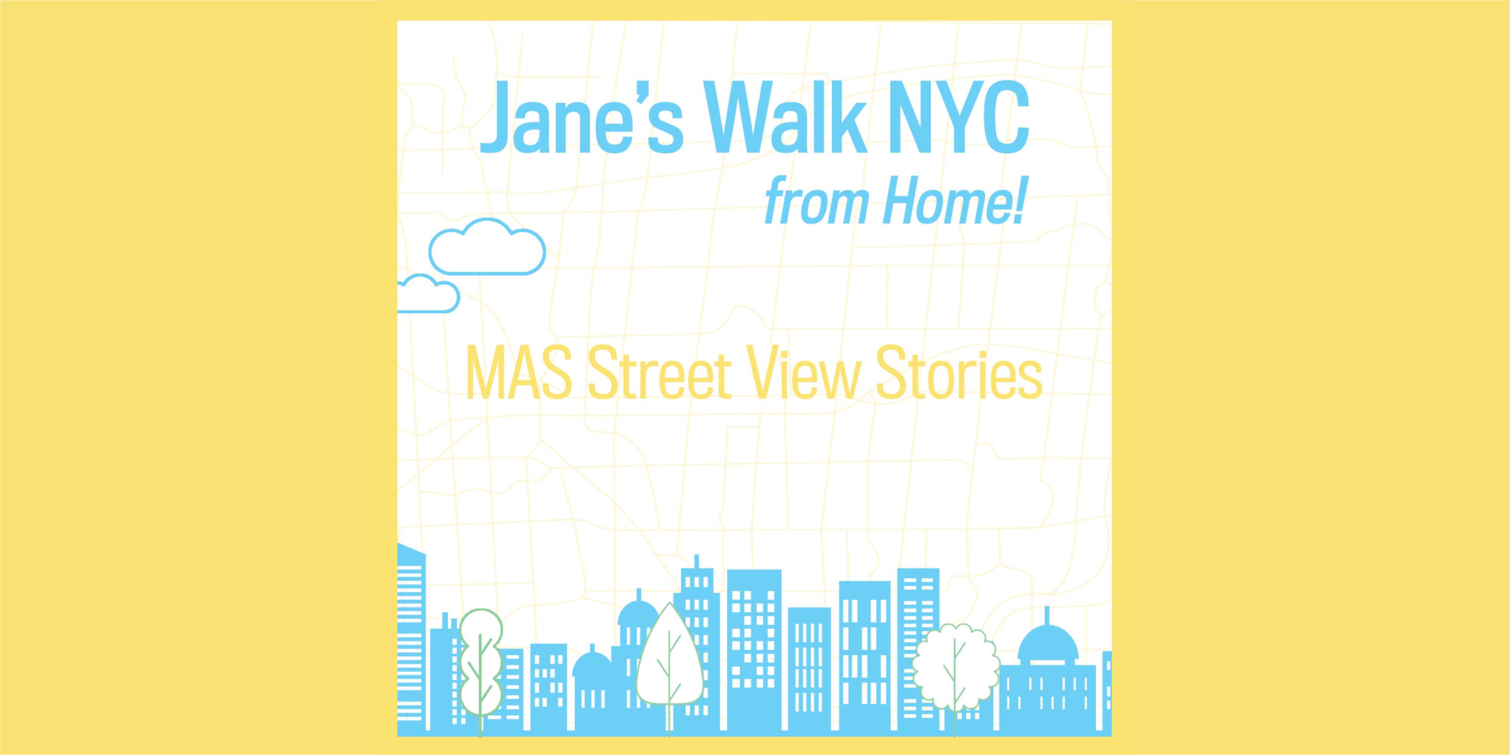 Advertisement for Jane's Walk 2020, Day 6 activities