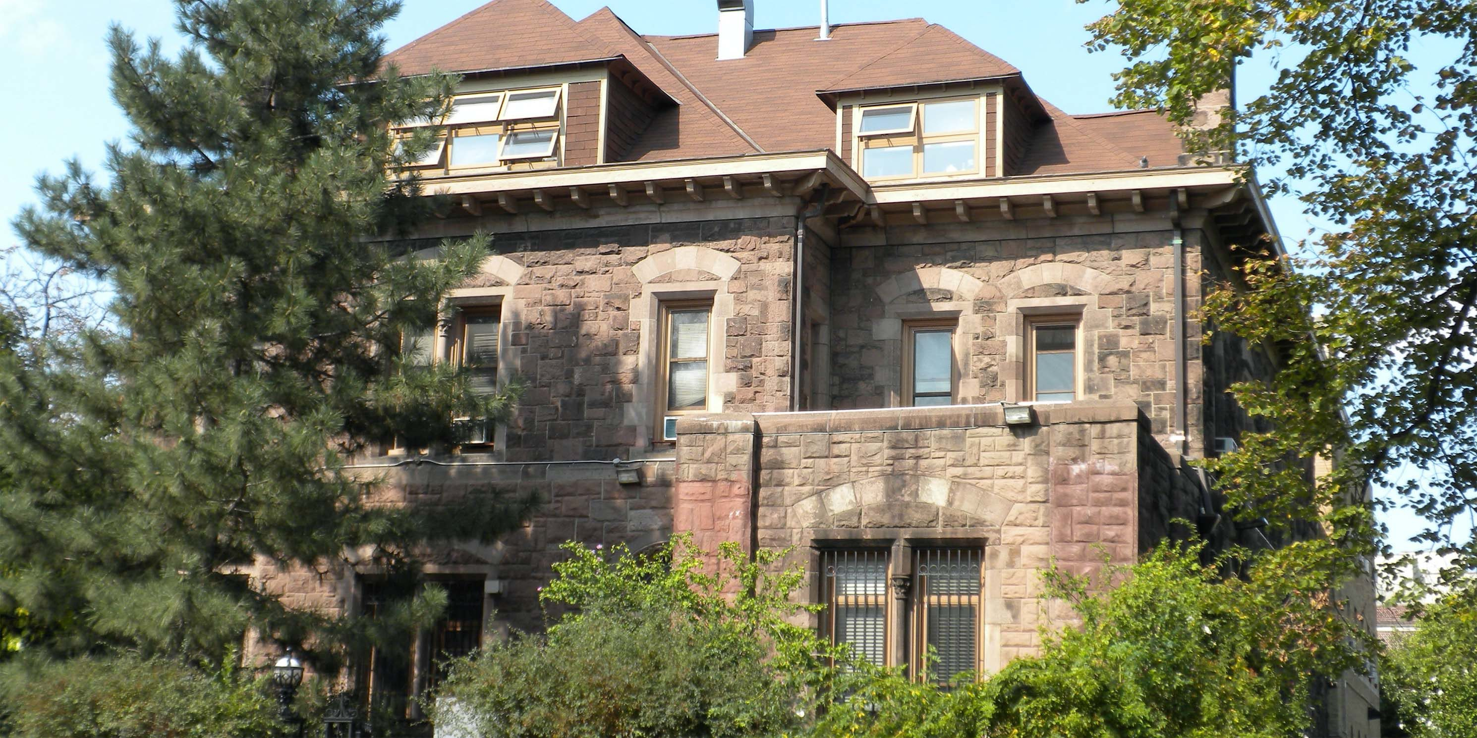 a mansion in the Saint Mark's District of Brooklyn