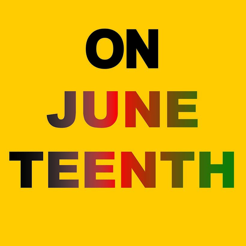 graphic for the Juneteenth holiday