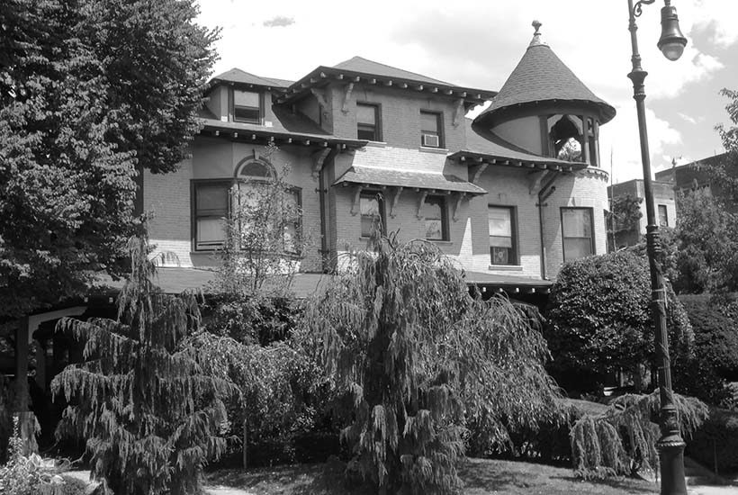 exterior of the William A. Norwood House in Brooklyn