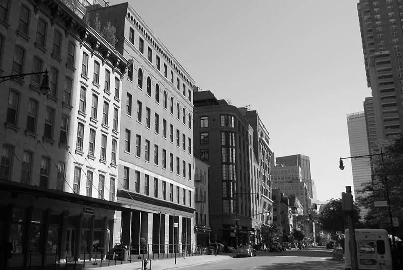 Greenwich Street in Tribeca