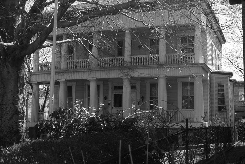 exterior of Robert Benner's House 'Rosemont' in Queens