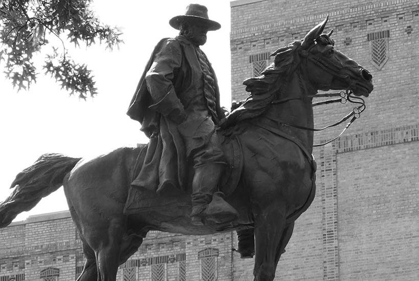 statue of Ulysses S. Grant on a horse