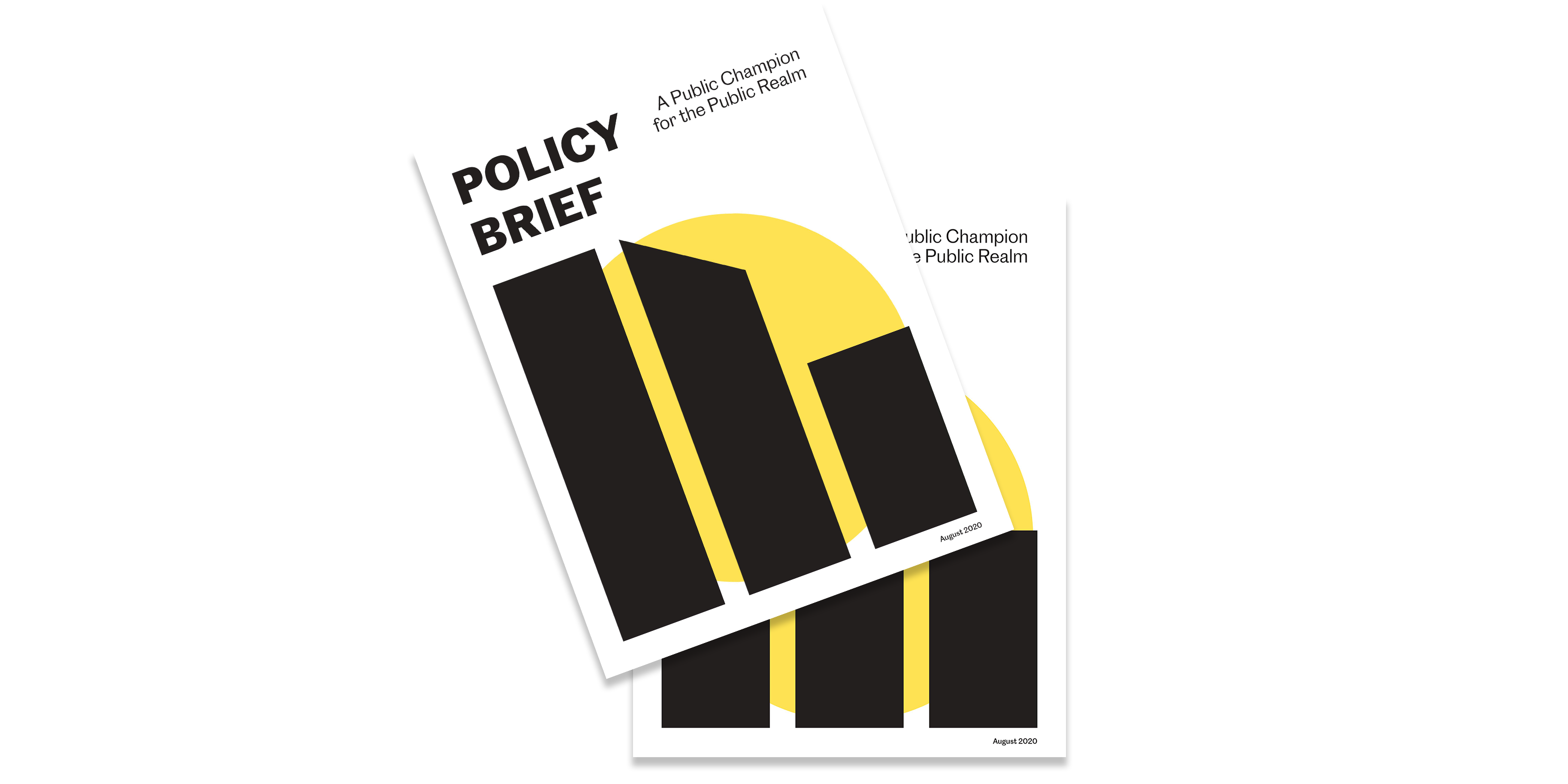 Cover for the Fight for Light policy brief, A Public Champion for the Public Realm, calling for the Director of the Public Realm