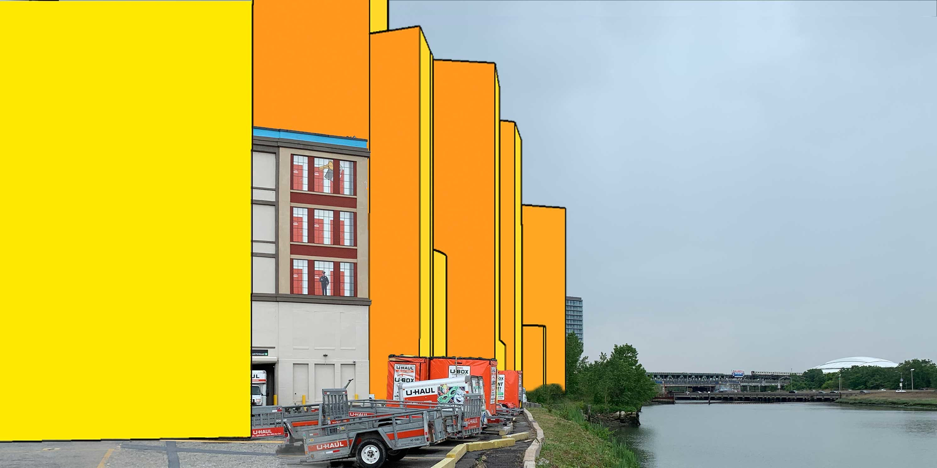 proposed and potential development along Flushing Creek in Flushing, Queens