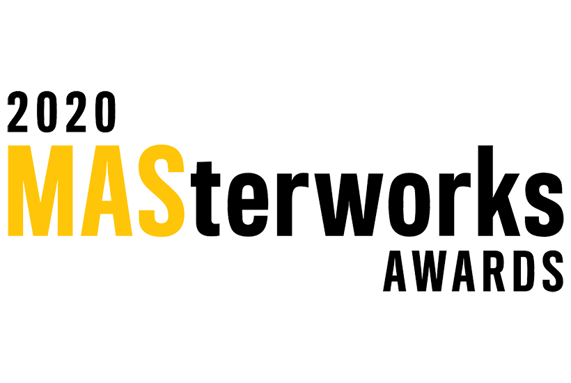 logo for the 2020 Masterworks awards ceremony