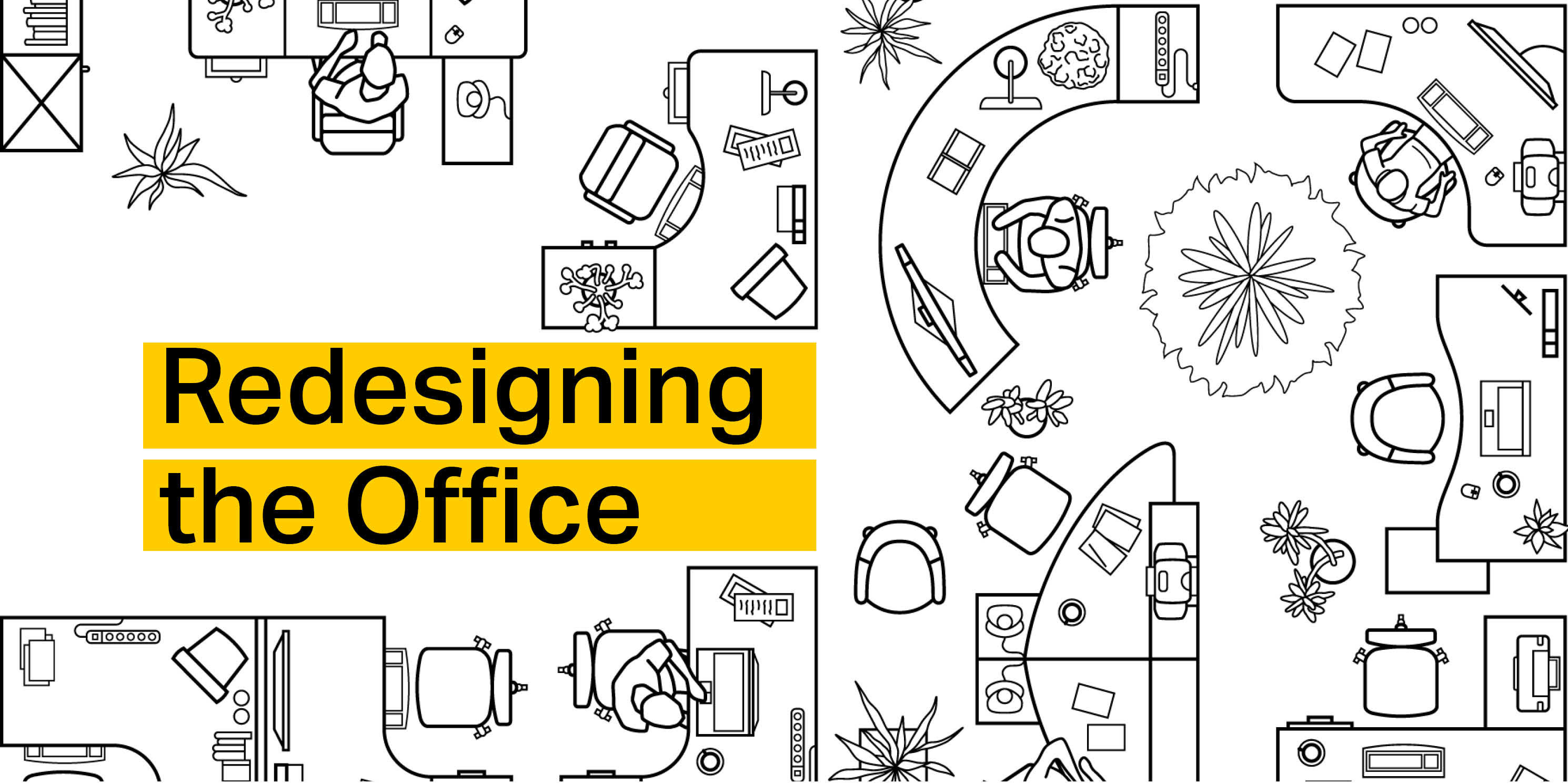 graphic advertising the Municipal Art Society of New York's Redesigning the Office event