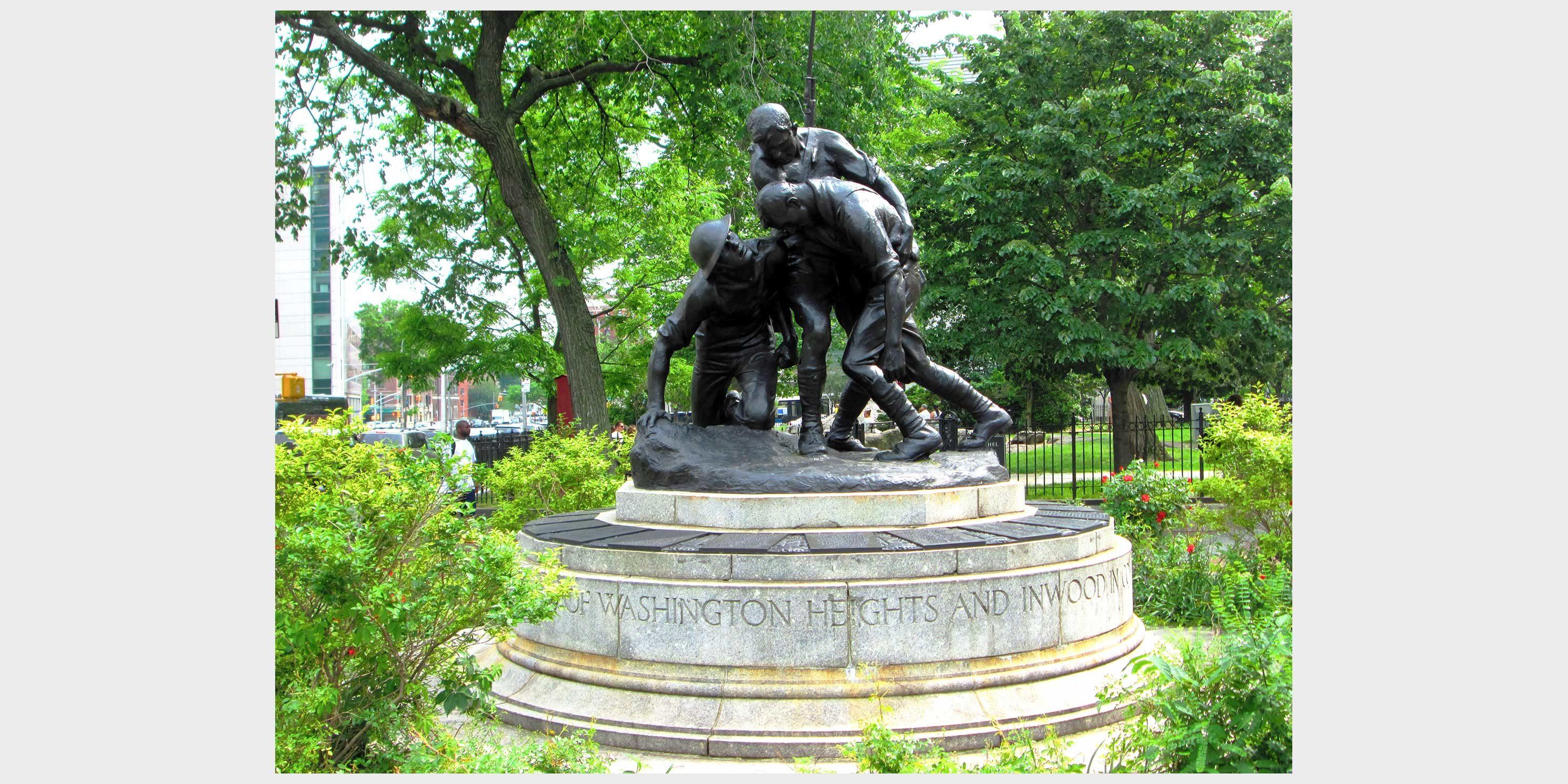 Mitchel Square World War I Memorial in Washington Heights