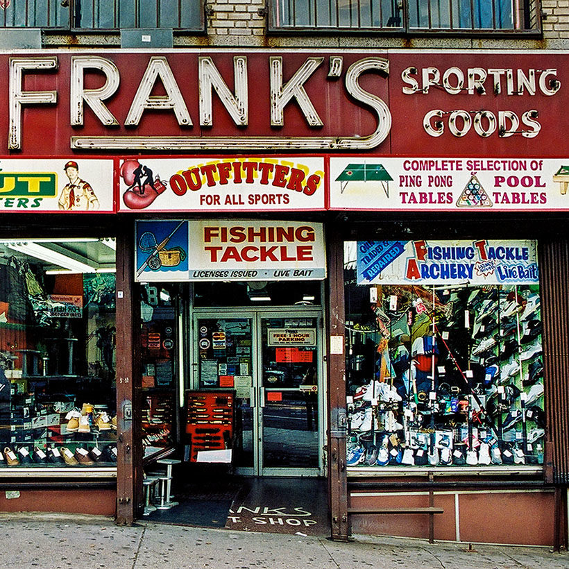 exterior of Frank's Sporting Goods