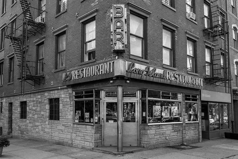 exterior of Long Island Restaurant