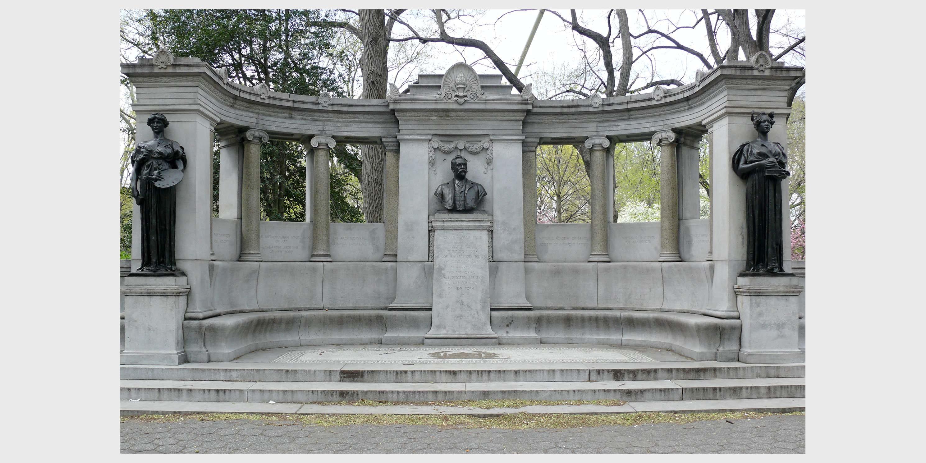 Richard Morris Hunt Memorial in Central Park